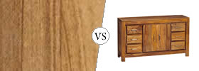Teak Wood vs Sheesham