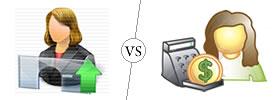 Teller vs Cashier