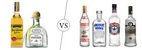 Tequila vs Vodka