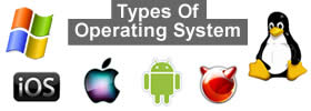 Different types of Operating System