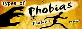 Different Types of Phobias