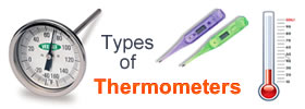 Different Types of Thermometers