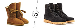 UGGS vs Boots