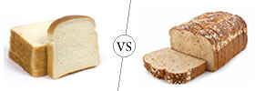 White Bread vs Wheat Bread