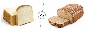 White Bread vs Wheat Bread