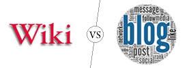 Wiki vs Blog