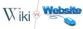 Wiki vs Website