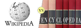 Wikipedia vs Encyclopedia