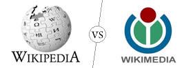 Wikipedia vs Wikimedia