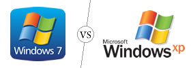 Windows 7 vs Windows XP