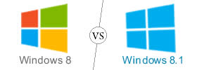 Windows 8 vs Windows 8.1