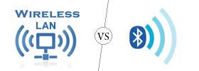 Wireless LAN vs Bluetooth