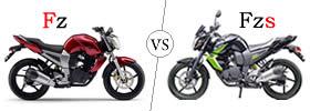 Yamaha FZ vs Yamaha FZS