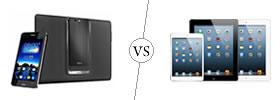 Asus PadFone Infinity vs iPad