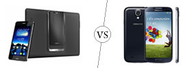 Asus PadFone Infinity vs Samsung Galaxy S4