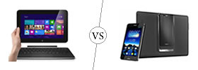 Dell XPS 10 vs Asus Padfone Infinity