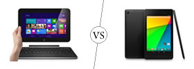 Dell XPS 10 vs Nexus 7