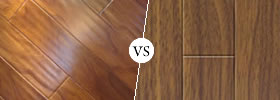 Hardwood vs Laminate