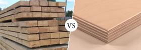Hardwood vs Plywood