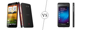 HTC Butterfly vs BlackBerry Z10