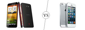 HTC Butterfly vs iPhone 5