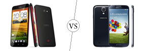 HTC Butterfly vs Samsung Galaxy S4