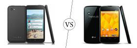 HTC First vs Nexus 4