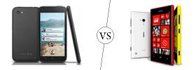 HTC First vs Nokia Lumia 720