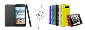 HTC First vs Nokia Lumia 820