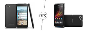 HTC First vs Sony Xperia L