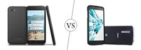 HTC First vs Xolo X1000