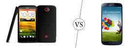 HTC One X+ vs Samsung Galaxy S4