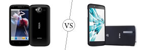 Intex Aqua Wonder 2 vs XOLO X1000
