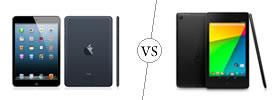iPad Mini vs Nexus 7