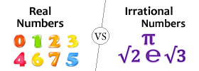 Irrational vs Real numbers