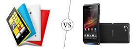 Nokia Lumia 520 vs Sony Xperia L