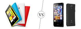 Nokia Lumia 520 vs Sony Xperia T