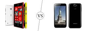 Nokia Lumia 720 vs Karbonn Titanium S5