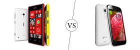 Nokia Lumia 720 vs Micromax A116 Canvas HD