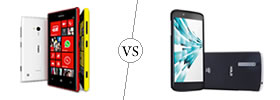 Nokia Lumia 720 vs XOLO X1000