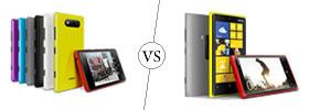 Nokia Lumia 820 vs Nokia Lumia 920