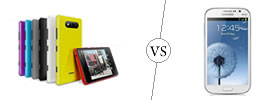 Nokia Lumia 820 vs Samsung Galaxy Grand
