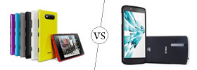 Nokia Lumia 820 vs XOLO X1000
