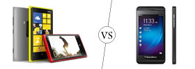 Nokia Lumia 920 vs BlackBerry Z10