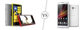 Nokia Lumia 920 vs Sony Xperia ZL