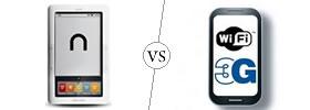 Nook Wi-Fi vs Wi-Fi/3G