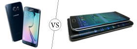 Samsung Galaxy S6 Edge vs S6 Edge Plus