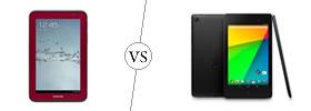 Samsung Galaxy Tab 2 7.0 vs Nexus 7