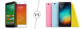 Xiaomi Mi 4 vs Mi 4i