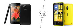 XOLO Q800 vs Nokia Lumia 620